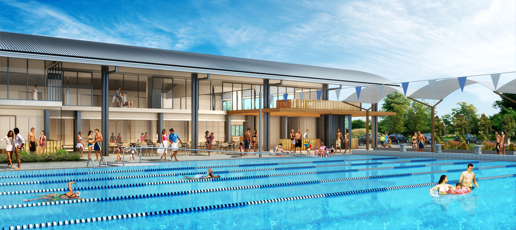 Parkinson aquatic centre spantech - Brisbane city council swimming pools ...