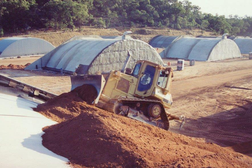 Earth covered buildings spantech for Earth covered homes